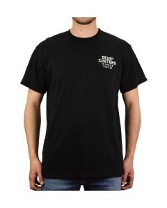 T-SHIRT LT OCTANE TEE BLACK DMP201411| DEUS EX MACHINA