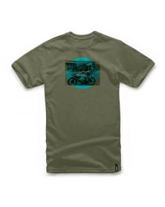 T-SHIRT TASK TEE MILITARY GREEN 1017-72020-60| ALPINESTARS