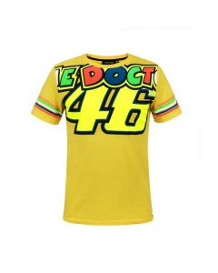 T-SHIRT THE DOCTOR VR46 YELLOW 1896811| DAINESE