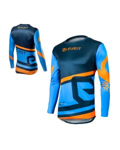 ΜΠΛΟΥΖΑ MX X-LEGEND MX171 BLUE/ORANGE | ELEVEIT