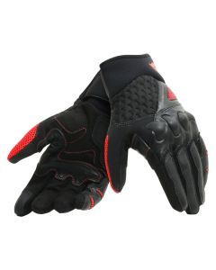 ΓΑΝΤΙΑ X-MOTO BLACK/FLUO-RED 1815900| DAINESE