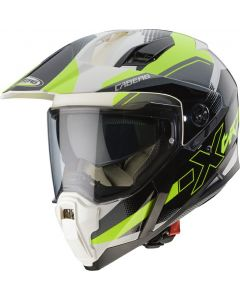 ΚΡΑΝΟΣ XTRACE SPARK WHITE / ANTHRACITE / YELLOW FLUO | CABERG