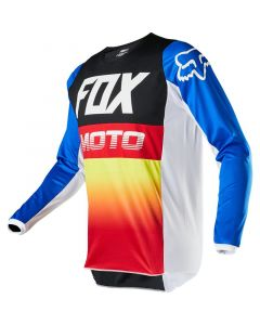 ΜΠΛΟΥΖΑ 180 FYCE JERSEY 23922-149 MULTI BLUE/RED| FOX