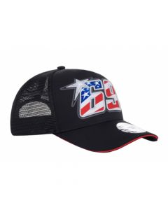 ΚΑΠΕΛΟ 69 BASEBALL TRUCKER CAP BLACK 2044001| NICKY HAYDEN