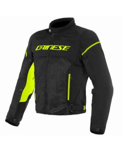 ΚΑΛΟΚΑΙΡΙΝΟ ΜΠΟΥΦΑΝ AIR FRAME D1 TEX JACKET BLACK/BLACK/YELLOW-FLUO 1735196| DAINESE