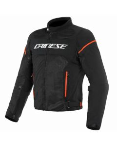 ΚΑΛΟΚΑΙΡΙΝΟ ΜΠΟΥΦΑΝ AIR FRAME D1 TEX JACKET BLACK/WHITE/FLUO-RED 1735196| DAINESE