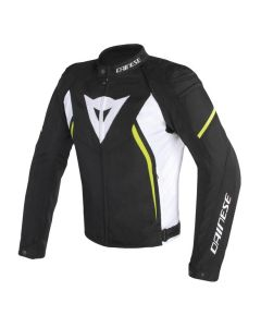 ΜΠΟΥΦΑΝ AVRO D2 TEX BLACK/WHITE/YELLOW-FLUO 1735190 | DAINESE