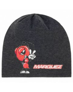 ΣΚΟΥΦΙ DOUBLE-FACE SPRING BEANIE ANTHRACITE GREY 2043015| MARC MARQUEZ