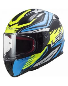 ΚΡΑΝΟΣ FF353 GALE MATT BLACK/BLUE/YELLOW | LS2