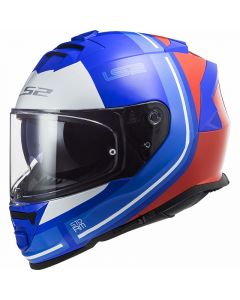 ΚΡΑΝΟΣ FF800 STORM SLANT GLOSS BLUE/RED| LS2