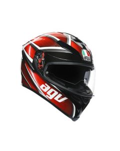 ΚΡΑΝΟΣ K5 S MULTI TEMPEST BLACK/RED MPLK| AGV