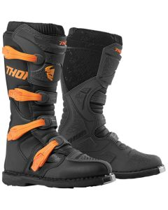 ΜΠΟΤΕΣ MX BLITZ XP CHARCOAL/ORANGE BOOT| THOR