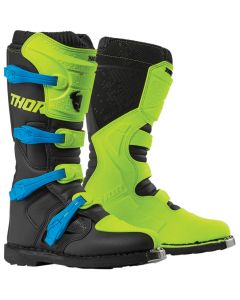 ΜΠΟΤΕΣ MX BLITZ XP FLO GREEN/BLACK BOOT| THOR