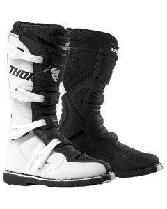 ΜΠΟΤΕΣ MX BLITZ XP WHITE/BLACK BOOT| THOR