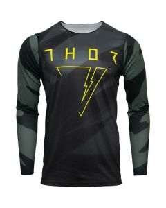 ΜΠΛΟΥΖΑ MX PRIME PRO CAST MILITARY GREEN/BLACK JERSEY| THOR
