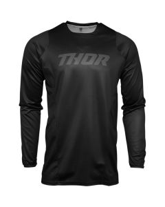 ΜΠΛΟΥΖΑ MX PULSE BLACKOUT JERSEY BLACK| THOR