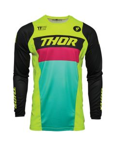 ΜΠΛΟΥΖΑ MX PULSE RACER ACID/BLACK JERSEY| THOR