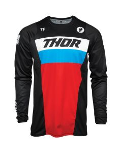 ΜΠΛΟΥΖΑ MX PULSE RACER BLACK/RED/BLUE JERSEY| THOR