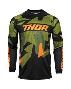 ΜΠΛΟΥΖΑ MX SECTOR WARSHIP GREEN/ORANGE JERSEY| THOR