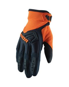ΓΑΝΤΙΑ MX SPECTRUM MIDNIGHT/ORANGE GLOVES| THOR