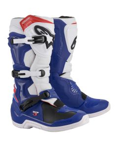 ΜΠΟΤΕΣ MX TECH 3 BOOTS BLACK BLUE/WHITE/RED 2013018-723| ALPINESTARS
