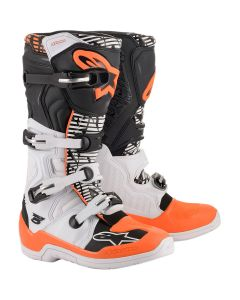 ΜΠΟΤΕΣ MX TECH 5 BOOTS WHITE/BLACK/ORANGE 2015015-243| ALPINESTARS
