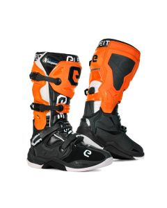 ΜΠΟΤΕΣ MX X-LEGEND BLACK/ ORANGE/ WHITE BOOT | ELEVEIT