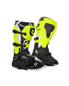 ΜΠΟΤΕΣ MX X-LEGEND BLACK/ YELLOW FLUO BOOT | ELEVEIT