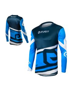 ΜΠΛΟΥΖΑ MX X-LEGEND MX172 BLUE/WHITE | ELEVEIT