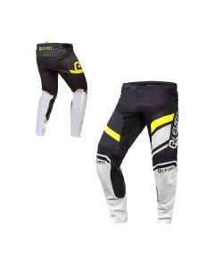 ΠΑΝΤΕΛΟΝΙ MX X-LEGEND PANT MX185 BLACK/WHITE/YELLOW FLUO | ELEVEIT