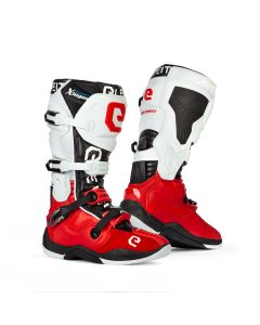 ΜΠΟΤΕΣ MX X-LEGEND RED/ WHITE BOOT | ELEVEIT