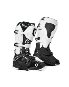ΜΠΟΤΕΣ MX X-LEGEND BLACK/ WHITE BOOT | ELEVEIT