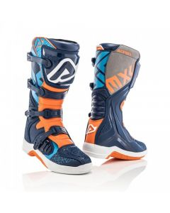 ΜΠΟΤΕΣ MX X-TEAM BOOTS BLUE/ORANGE 22999.243| ACERBIS