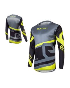 ΜΠΛΟΥΖΑ MX X-LEGEND MX174 GREY/BLACK/YELLOW FLUO | ELEVEIT