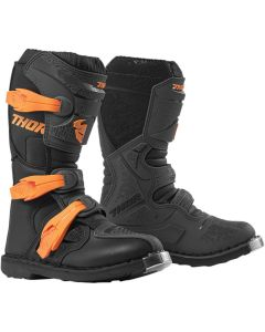 ΠΑΙΔΙΚΕΣ ΜΠΟΤΕΣ MX YOUTH BLITZ XP CHARCOAL/ORANGE BOOT| THOR