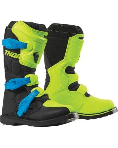 ΠΑΙΔΙΚΕΣ ΜΠΟΤΕΣ MX YOUTH BLITZ XP FLO ACID/BLACK BOOT| THOR