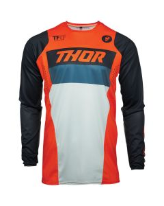 ΠΑΙΔΙΚΗ ΜΠΛΟΥΖΑ MX YOUTH PULSE RACER ORANGE/MIDNIGHT JERSEY| THOR