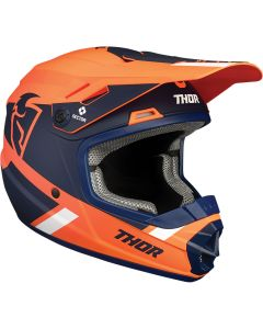 ΚΡΑΝΟΣ MX YOUTH SECTOR SPLIT ORANGE/NAVY MIPS HELMET| THOR
