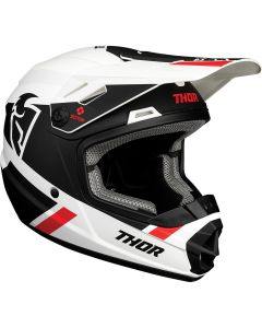 ΚΡΑΝΟΣ MX YOUTH SECTOR SPLIT WHITE/BLACK MIPS HELMET| THOR