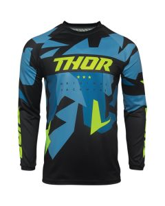 ΠΑΙΔΙΚΗ ΜΠΛΟΥΖΑ MX YOUTH SECTOR WARSHIP BLUE/ACID JERSEY| THOR