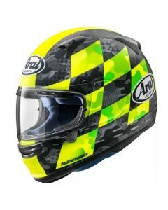 ΚΡΑΝΟΣ PROFILE-V DESIGN PATCH FLUO YELLOW| ARAI