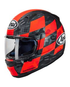 ΚΡΑΝΟΣ PROFILE-V DESIGN PATCH RED| ARAI