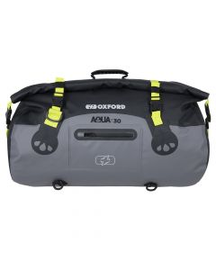 ΣΑΚΟΣ T-30 AQUA ROLL BAG BLACK/ GREY/ FLUO OL461| OXFORD