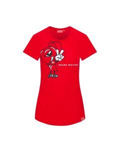 T-SHIRT LADY ANT GRAPHIC 93 RED 2033022| MARC MARQUEZ