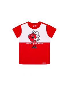 T-SHIRT ΠΑΙΔΙΚΟ ANT GRAPHIC 93 RED / WHITE 2033030| MARC MARQUEZ
