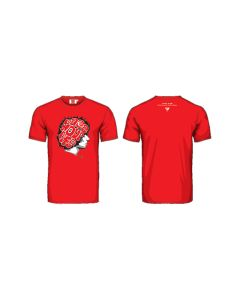 T-SHIRT RACE YOUR LIFE GRAPHIC RED 2035004| MARCO SIMONCELLI