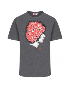 T-SHIRT RACE YOUR LIFE GRAPHIC GREY 2035011| MARCO SIMONCELLI