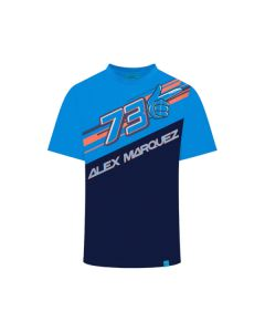 T-SHIRT 73 2019 BLUE 1932002| ALEX MARQUEZ