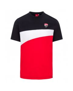 T-SHIRT DUCATI CORSE BLACK / RED / WHITE 2036001 | DUCATI RACING COLLECTION