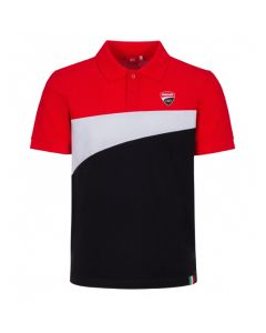 POLO SHIRT DUCATI RED / BLACK / WHITE 2016002 | DUCATI RACING COLLECTION